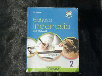 Buku bahasa Indonesia