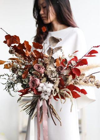 Bridal bouquet (dried)