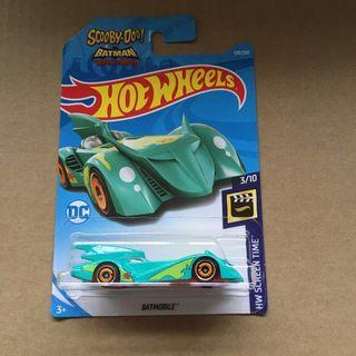 Hot wheels Scooby Doo Batman Brave and the Bold Batmobile