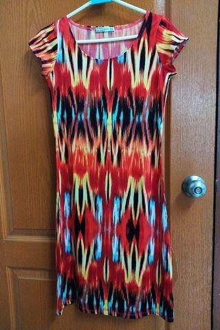 Zara 民族風 圖騰 洋裝