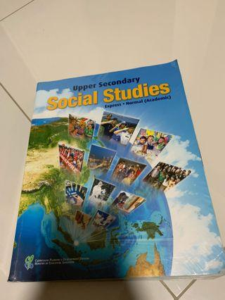 Upper secondary Social Studies Textbook