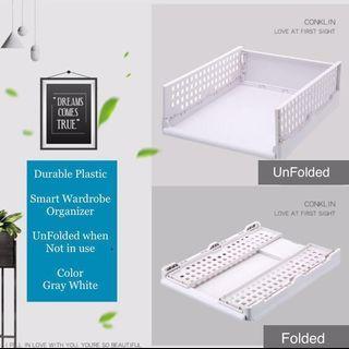 NEW Bundle of 2 $21.90 Home Wardrobe  Storage Organizer