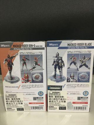 🚚 SHF kamen rider den o 20th rider kick version