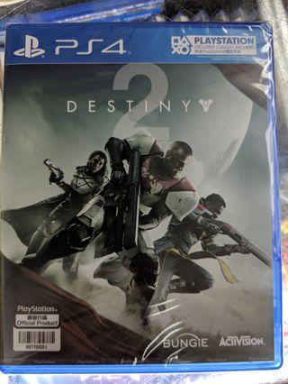 PS4 Destiny 2 天命2 中英合版