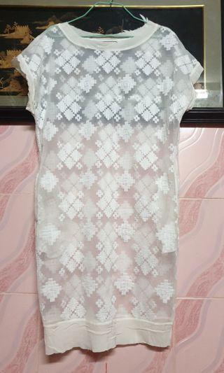 by malene birger hebra embroidered dress