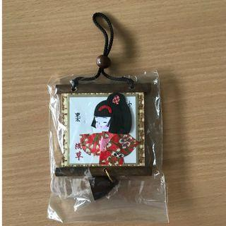 Japanese small wall plaque  浅草