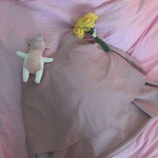 粉色蛋糕魚尾裙