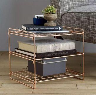 (PO) DZL Copper Iron Side Rack