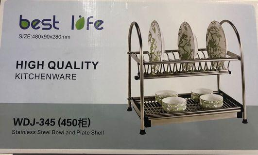 🚚 Stainless Steel Dish Rack