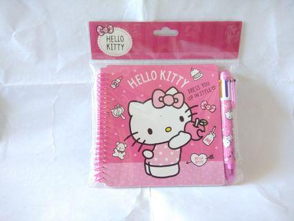 Hello Kitty Notebook and Pen Set