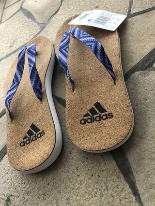 Adidas cork slippers/Flip flops