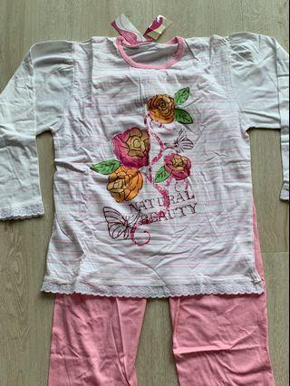 Pyjamas set for girls (13-14years)