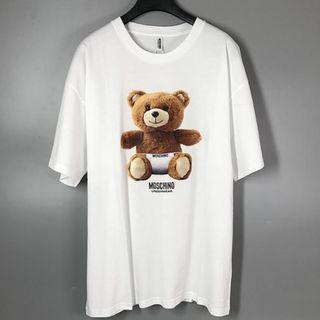 Moschino 白色短袖T恤 (Weec)