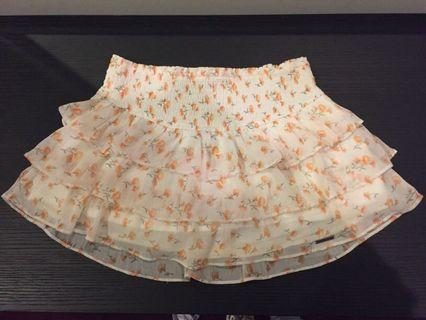 Abercrombie & Fitch Floral Mini Skirt size S