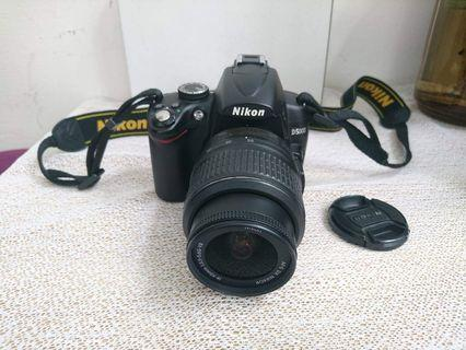 Nikon dslr camera with video and rotating LCD