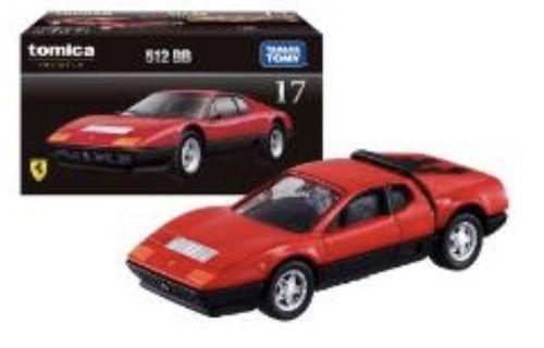 Tomica Diecast Ferrari - No.17 512 BB