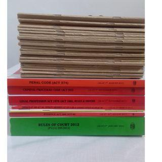 Statutes & Notes for Law students
