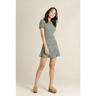 INSTOCK Marvie Floral Ruffle Dress