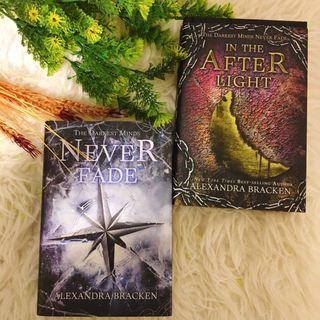 Never Fade and In The Afterlight by Alexandra Bracken