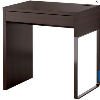 IKEA Micke black-brown desk - $40