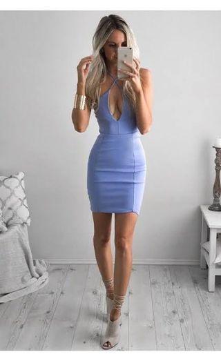Size 10 | Gorgeous blue dress
