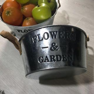 D21 Aluminium Tin Small ( FLOWER & GARDEN )