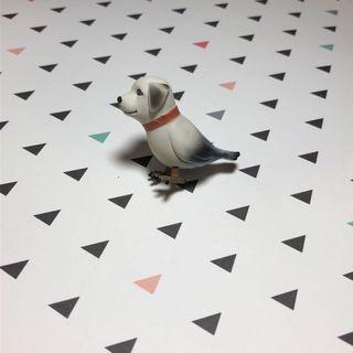 Dalmatian Parrot Figurine Dogbird