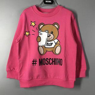 Moschino 19春夏新款 童装小熊卫衣 (Weec)