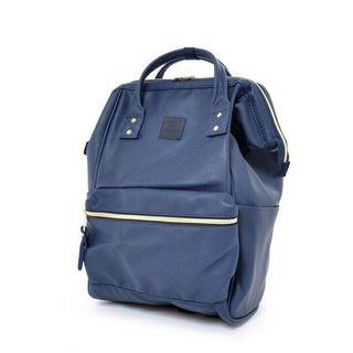 🚚 [LIMITED EDITION] Authentic Anello Synthetic Leather Backpack Navy