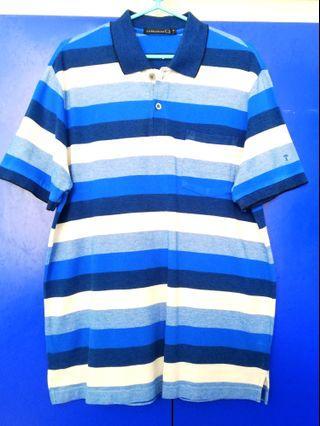 (Brand New!!) Superior Blue Alternated Fashion Polo Shirt
