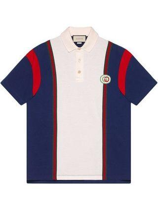 Gucci Interlocking G Patch Polo Shirt