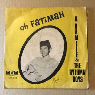 A Ramlie - Oh Fatimah 7 inch