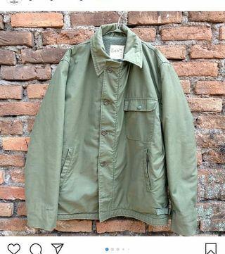 jaket army USN a2 deck jacket vintage