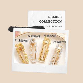 Hair pin flakes collection