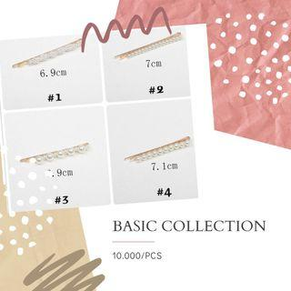 Hair pin basic collection