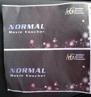 GSC Movie Voucer