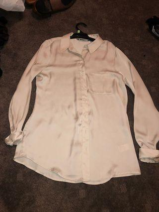 GLASSONS SILK BLOUSE SIZE 8