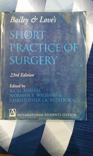 Short Practise of Surgery