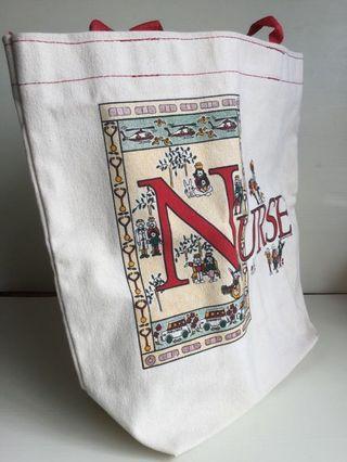 Canvas Tote Bag - Nurse