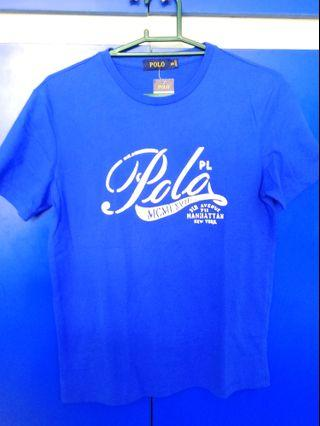 (Brand New!!)  Ralph Lauren POLO Quality Tailored Blue Tee