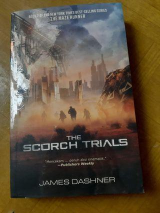 Novel Scorch Trials James Dashner Maze Runner 2