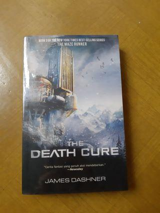 Novel The Death Cure James Dashner Maze Runner 3