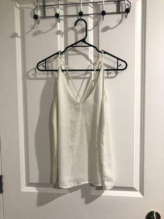 Size 8- strappy top- Glassons