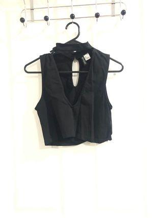 Size S- Deep V Top-  H&M