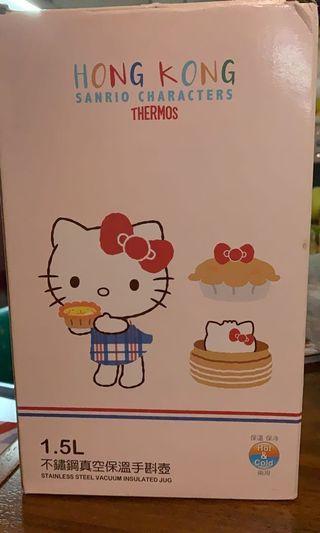 Hello Kitty 1.5 升不鏽鋼真空保溫手斟壺 Thermos vacuum jug