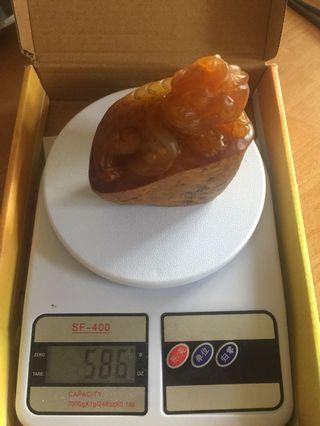 🚚 壽山老田黃印材 106/86/60 重586公克