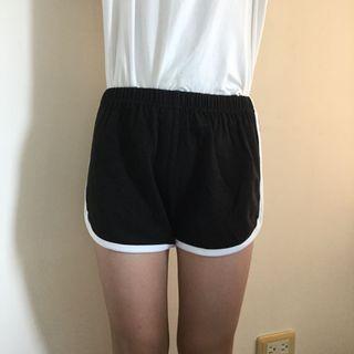 🚚 兒童 黑色運動褲