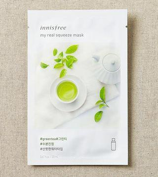 Innisfree Sheet Mask My Real Squeeze Mask Green Tea