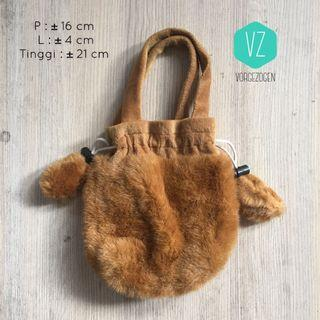 Handbag bulu / tas bulu