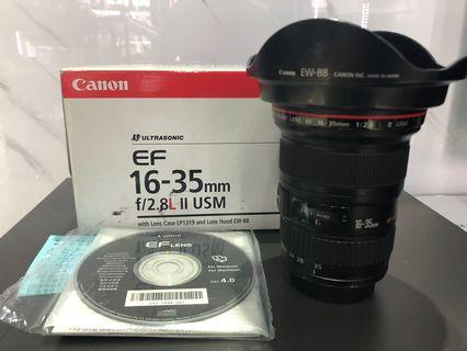 Canon 16-35mm F2.8 L II USM 廣角 二手